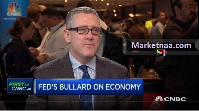 جيمس بولارد عضو الاحتياطي الفيدرالي | يُدلي بتصريحاتٍ قد تُؤثر على أسعار الدولار والذهب قريباً