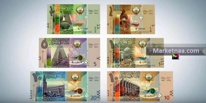 سعر الدينار الكويتي بالجنيه المصري اليوم| شامل أسعار العُملات بالكويت عربية وأجنبية بمصر المزيني الأحد 3 نوفمبر