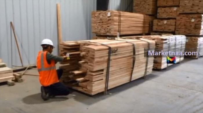 سعر متر الخشب اليوم في مصر| شامل كافة الأنواع من سويد موسكي وبياض وزان وأرو الاثنين 23-12-2019