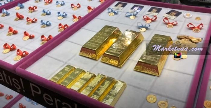 أسعار الذهب البحرين  شامل سعر السبيكة والأونصة بالدينار البحريني اليوم الثلاثاء 11-8-2020