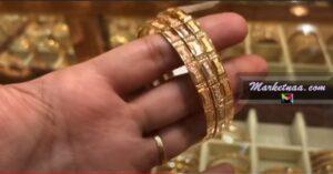 سعر بيع الذهب اليوم في الرياض| شامل الأسعار بالمصنعية بمحلات الصاغة الاثنين 8-2-2021